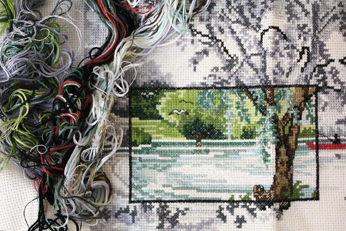 Cross Stitch: Lake View