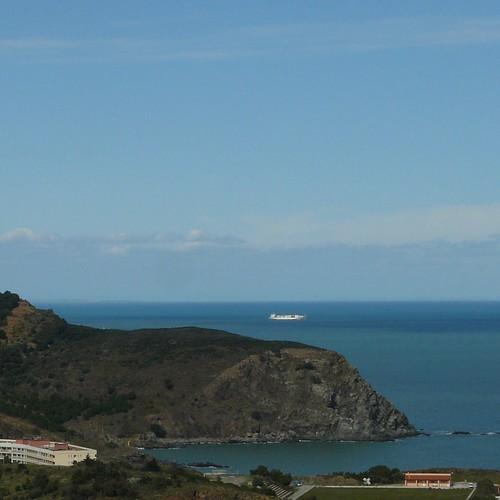 Lady Rosebud, quittant Port-Vendres by Claudie K