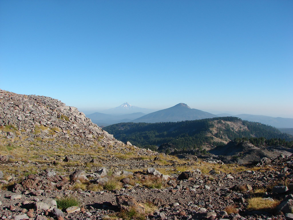 Mt. Hood and Olallie Butte