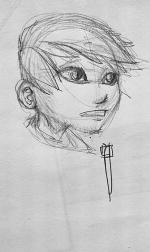 boceto niño