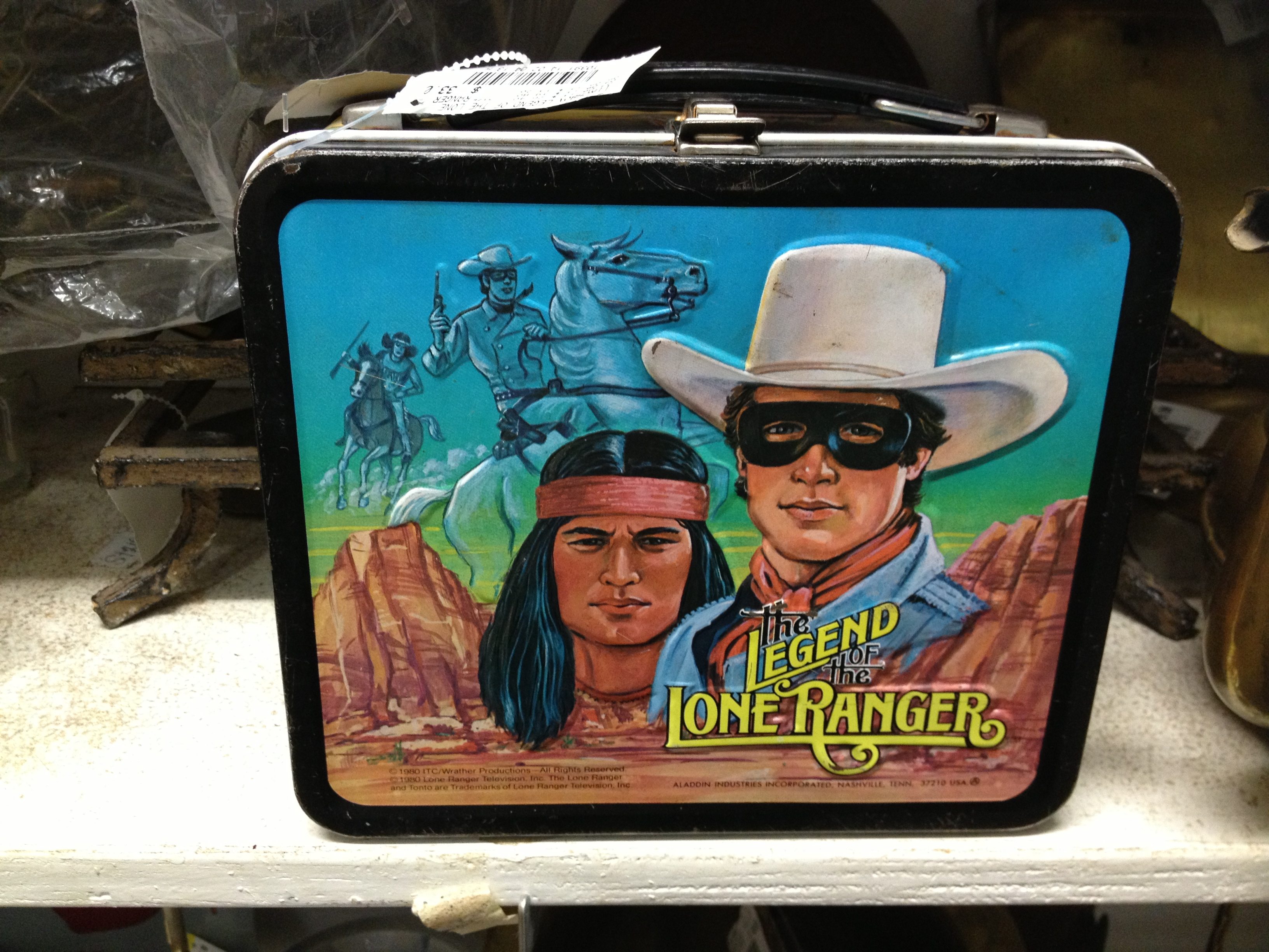 Lone Ranger box for $33