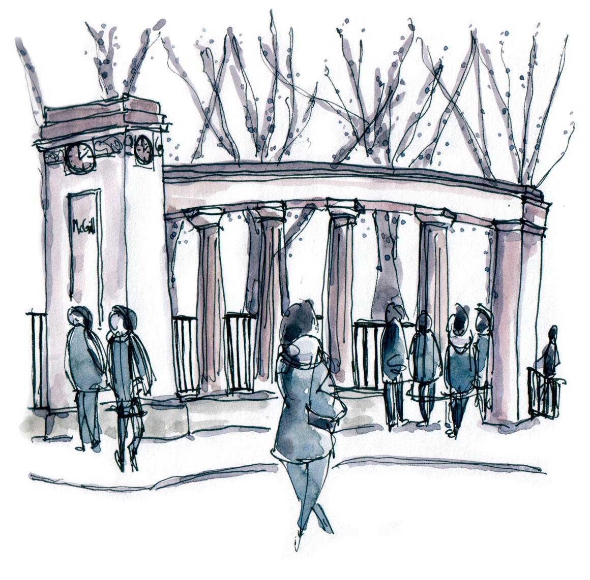 McGill gates