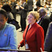 UN Women Executive Director Michelle Bachelet speaks at closing of CSW57