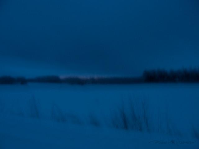Nieve azul