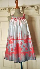 Dexter Dress  silk/cotton sateen