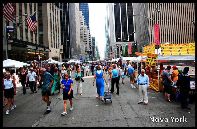 feiras de rua - Nova York