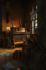 Antique restoration shop. Sumerduck, Virginia
