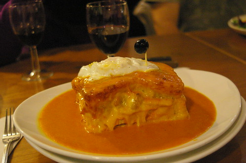 The francesinha!