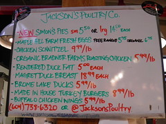 Jackson's Poultry Company Sign