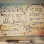 Doodlyrics: After Every Rainfall