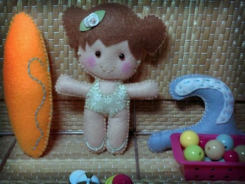 Bonequinha surfista. by Paninh♥s em forma de am♥r