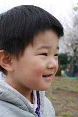 とらちゃん、お出かけ 2013/3/24
