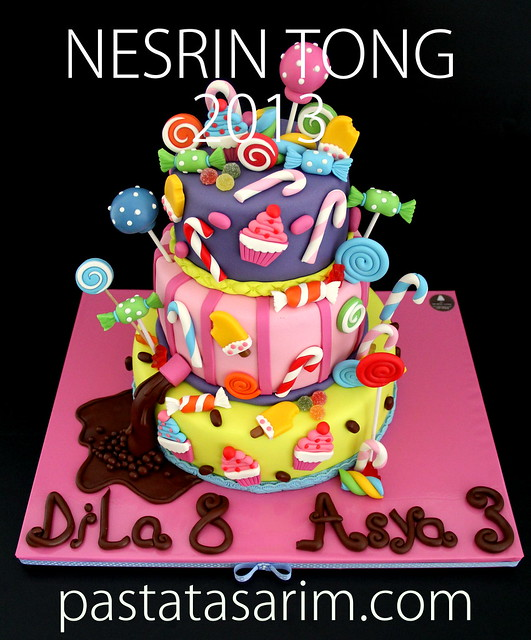 candys birthday cake