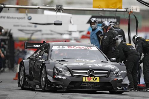 Daniel Juncadella Test DTM Circuit Catalunya 2013