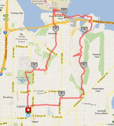 Today's awesome walk, 6.87 miles in 2:01 by christopher575