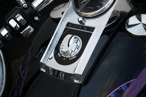 Harley - Davidson Motorbike detail - Aug.2016