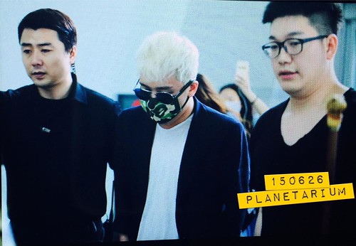 Big Bang - Incheon Airport - 26jun2015 - Planetarium_SR - 01