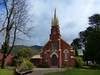 Historic Uniting church in Bright