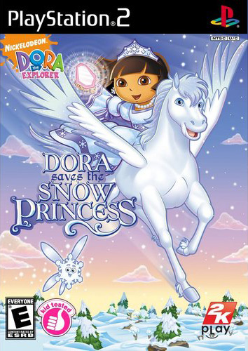 Dora Saves the Snow Princess on PS2