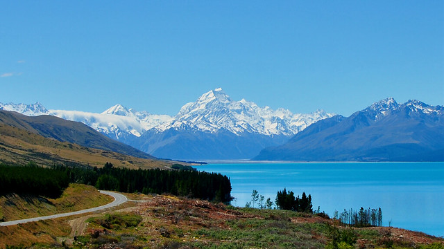 Mt Cook, Lake Pukaki