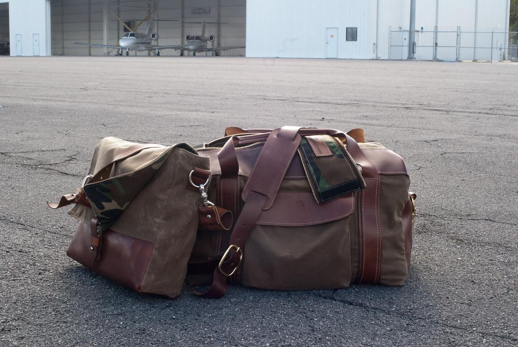 Hellbrand Leatherworks Smuggler's Duffel