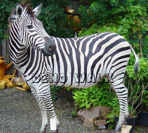 Life Size Animatronic Zebra Model for Sale