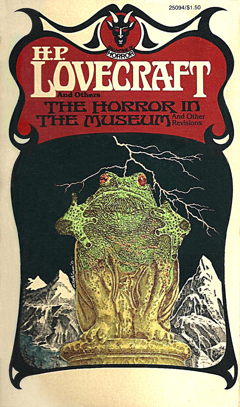 "Murray Tinkelman - Cover for H.P Lovecraft's ""The Horror In The Museum"""