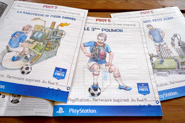 playstation foot5