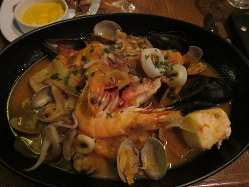 seafood, shrimp, clams, calamari, scallops,… IMG_2643