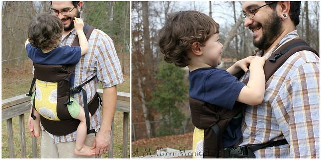 844bc571d7e Babywearing Dad · versatile baby carrier