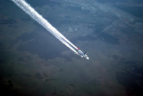plane below.