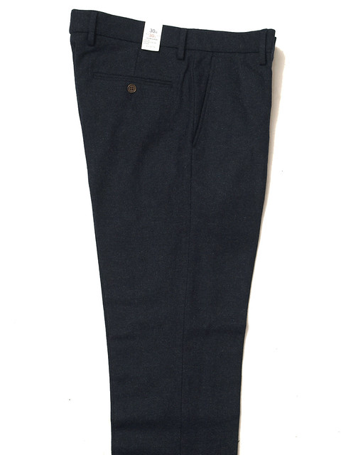 J.Crew / Bedford Pant In Navy Wool
