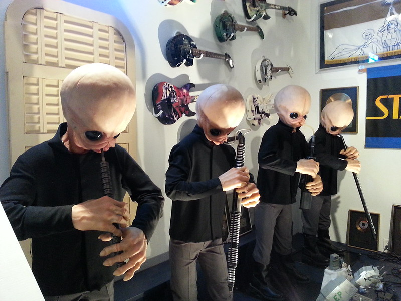 Animatronic Cantina Band