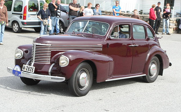 1939 Opel Kapitan. Photo source: Wikipedia