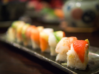 Have some sushi