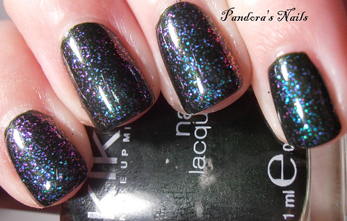 Kiko 392 and Enchanted Polish Ciao Milano 1
