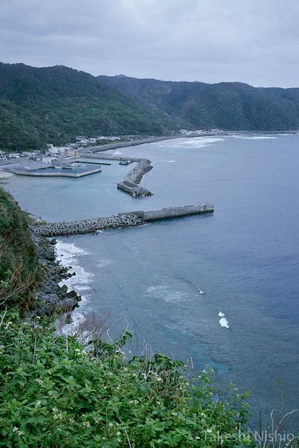 崖の上からの眺め / View from cliff-top