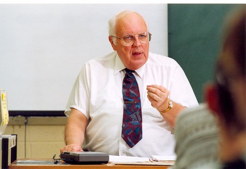 Dr. Wes in 2000s lecturing