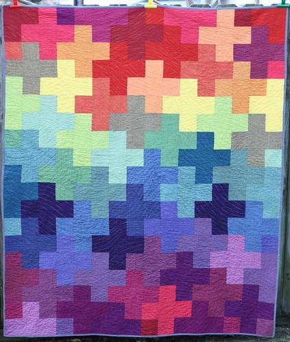 Rainbow Plus Quilt