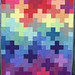 Rainbow Plus Quilt by bryanhousequilts