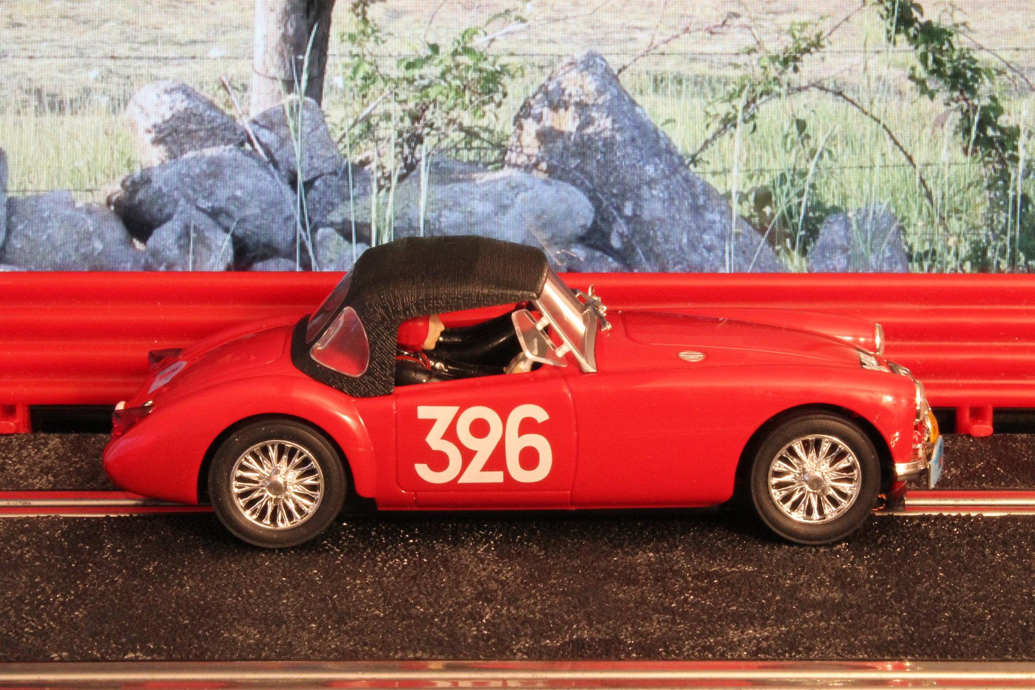 mg mga sports nancy mitchell rally des alpes 1956 ukloma slot cars blog. Black Bedroom Furniture Sets. Home Design Ideas