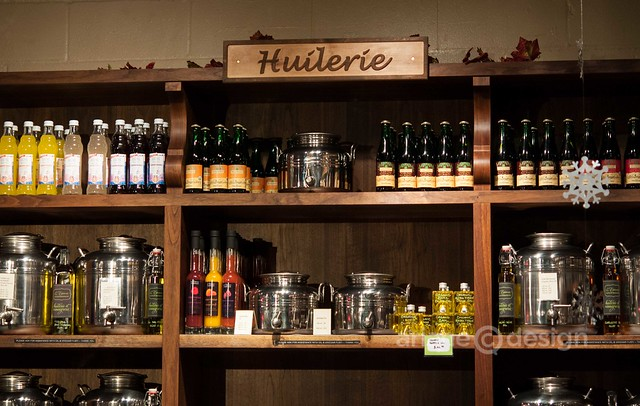 Gourmet oils from L'Épicerie, Rotisserie and Gourmande