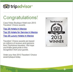 Casa Velas Won the Travelers