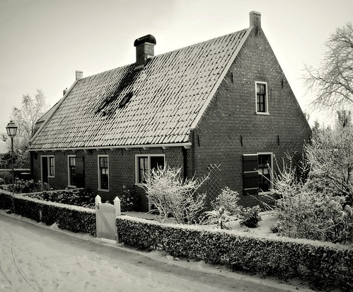 Architecture Bourtange Groningen at the winter / Architectuur Bourtange Groningen in de winter