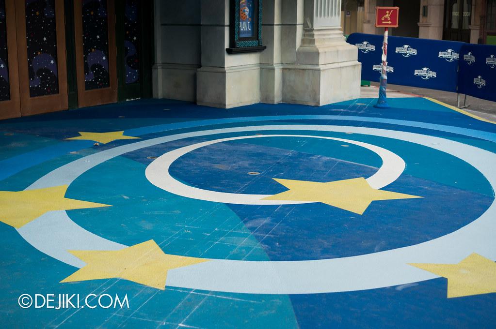 Sesame Street Spaghetti Space Chase (SSC) Floor Mural - Early Jan