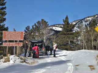 Lost Lake Trail Winter Trailhead