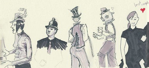 Favorite Edwardian Ball 2013  Sketches