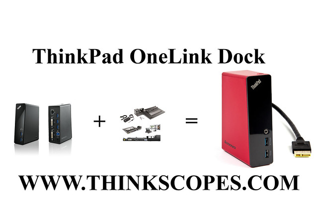 ThinkPad OneLink Dock concept