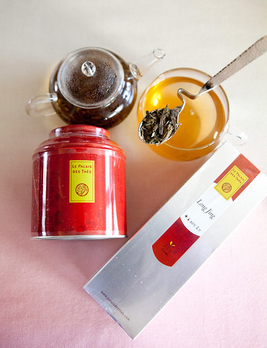 Long Jing and Thés des Songes teas from Le Palais des Thés