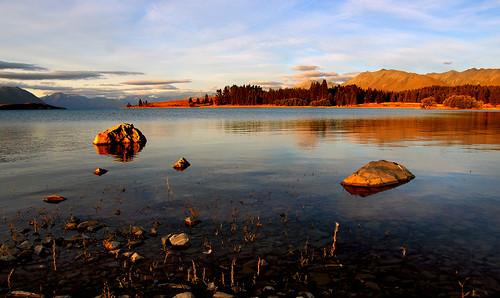 Evening at Lake Tekapo. (11)